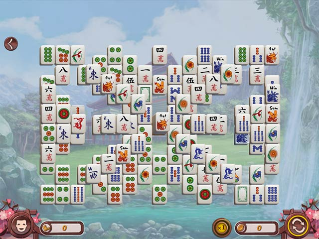 sakura day mahjong screenshots 3