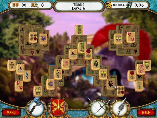 7 hills of rome mahjong screenshots 2