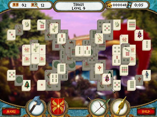 7 hills of rome mahjong screenshots 3