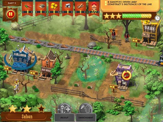 lucky luke: transcontinental railroad screenshots 1