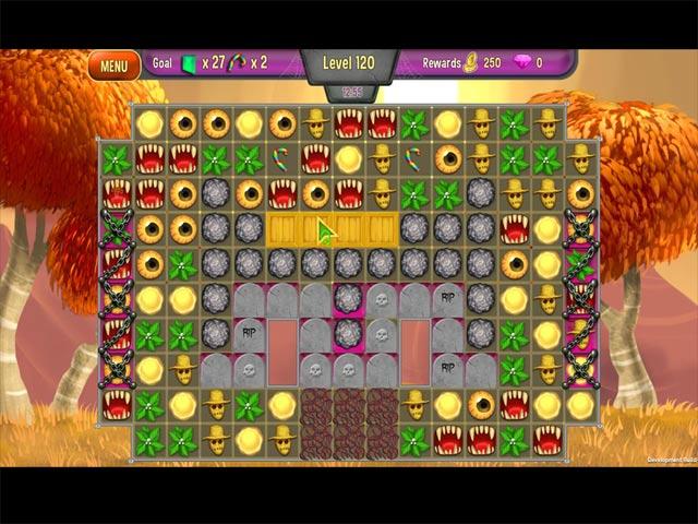 queen's garden halloween screenshots 3