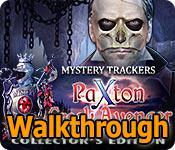mystery trackers: paxton creek avenger walkthrough