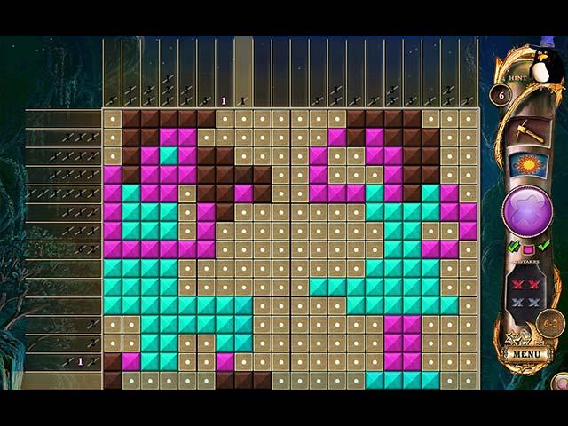 fantasy mosaics 11: fleeing from dinosaurs screenshots 2