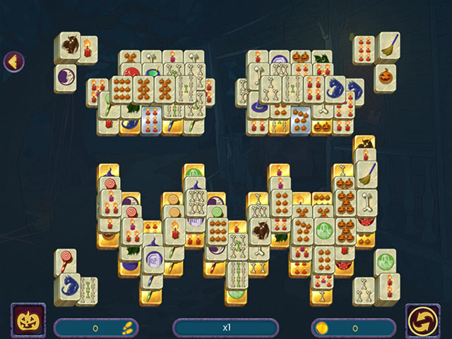 halloween night mahjong screenshots 2