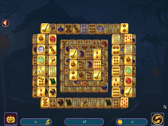 halloween night mahjong screenshots 3