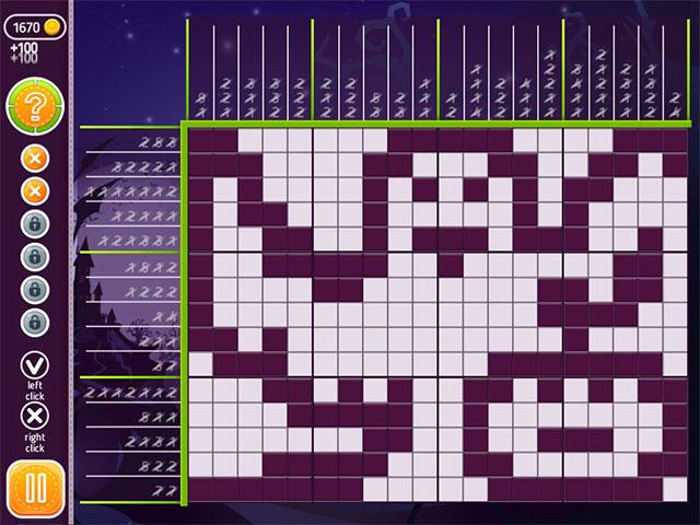 halloween riddles: mysterious griddlers screenshots 1