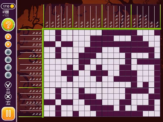 halloween riddles: mysterious griddlers screenshots 2
