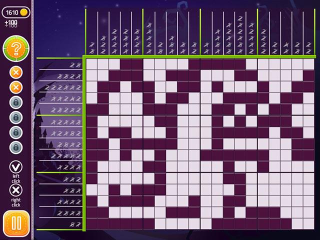 halloween riddles: mysterious griddlers screenshots 3