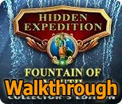 hidden expedition: the fountain of youth collector's edition walkthrough