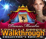 danse macabre: lethal letters walkthrough