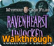 mystery case files: ravenhearst unlocked collector's edition walkthrough