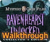 mystery case files: ravenhearst unlocked collector's edition walkthrough