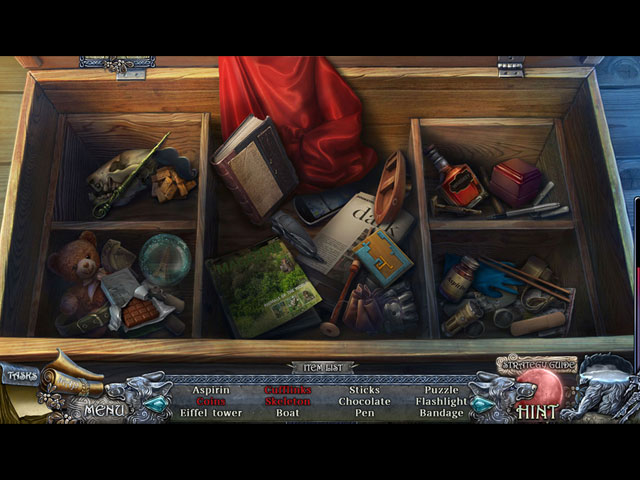 shadow wolf mysteries: curse of wolfhill collector's edition walkthrough