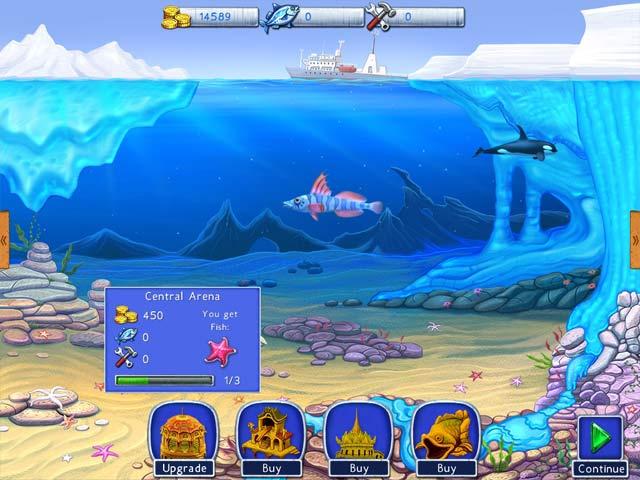 lost in reefs: antarctic screenshots 2