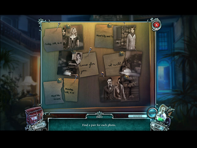 cursed cases: murder at the maybard estate collector's edition screenshots 3