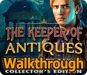 the keeper of antiques: the revived book walkthrough