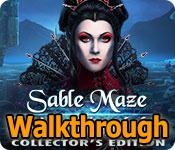 sable maze: sinister knowledge collector's edition walkthrough