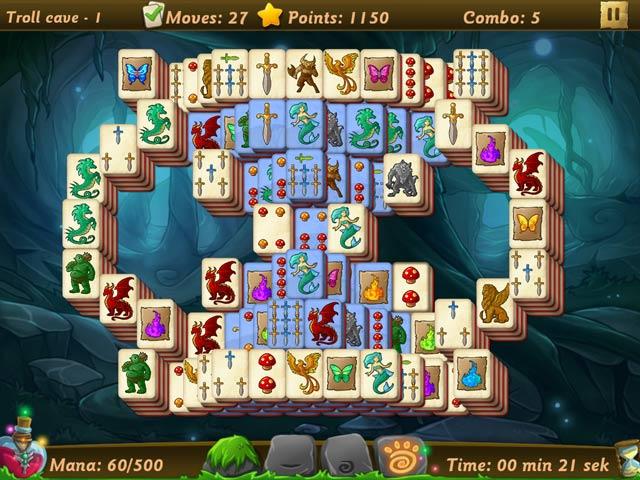 elves vs. goblin mahjongg world
