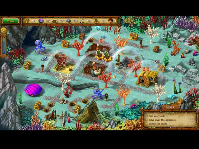 moai iv: terra incognita collector's edition screenshots 2
