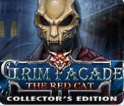 grim facade: the red cat