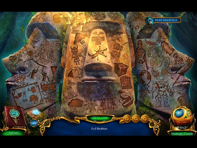labyrinths of the world: secrets of easter island collector's edition screenshots 2