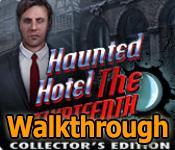 haunted hotel: the thirteenth walkthrough collector's edition walkthrough