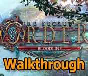 the secret order: bloodline collector's edition walkthrough
