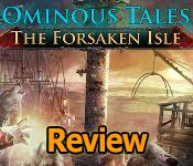 Ominous Tales: The Forsaken Isle Collector's Edition Review