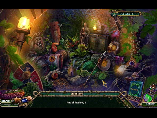 enchanted kingdom: a dark seed collector's edition walkthrough