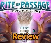 rite of passage: the sword and the fury collector's edition review
