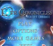 Love Chronicles: Deaths Embrace Collector's Edition