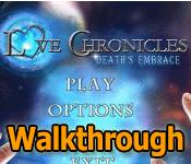 love chronicles: deaths embrace collector's edition walkthrough