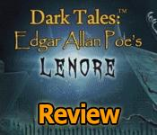 dark tales: edgar allan poes lenore review
