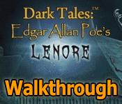 dark tales: edgar allan poes lenore walkthrough