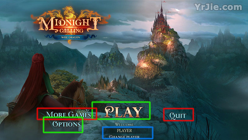 Midnight Calling: Wise Dragon Walkthrough