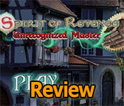 Spirit of Revenge: Unrecognized Master Collector's Edition Review
