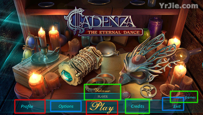 cadenza: the eternal dance collector's edition walkthrough screenshots 1