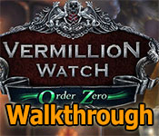 vermillion watch: order zero collector's edition walkthrough