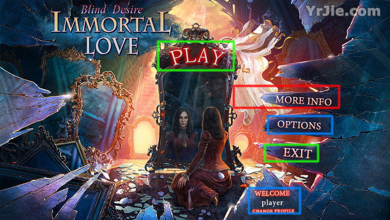 immortal love: blind desire collector's edition walkthrough