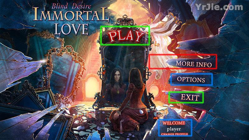 immortal love: blind desire collector's edition walkthrough screenshots 1