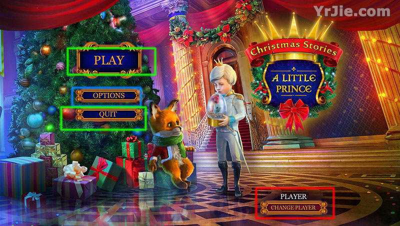 christmas stories: a little prince walkthrough