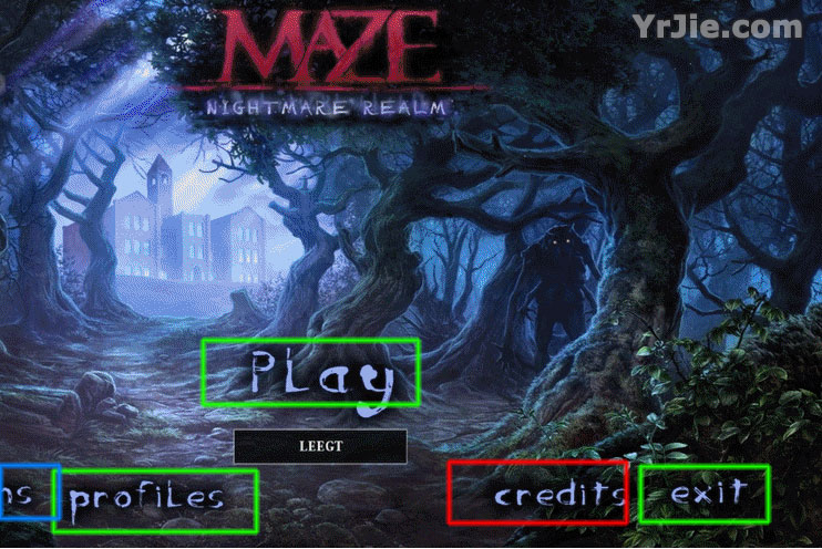 maze: nightmare realm collector's edition walkthrough