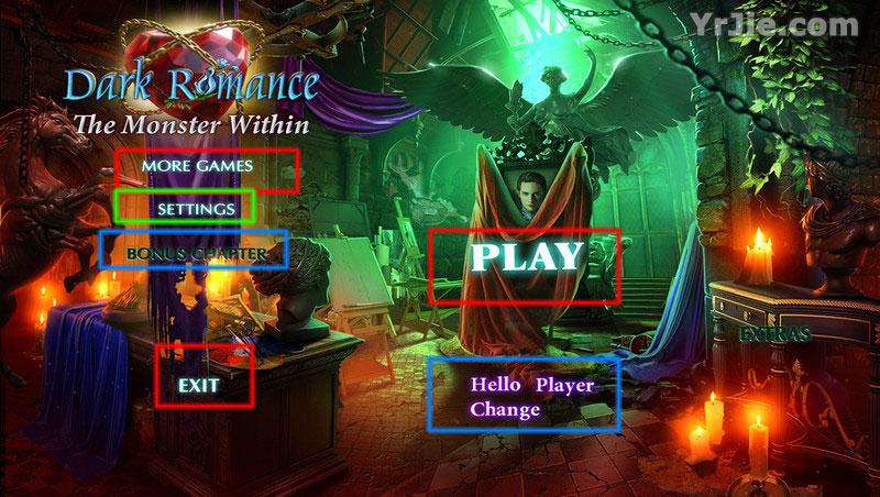 dark romance: the monster within walkthrough screenshots 1