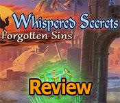 Whispered Secrets: Forgotten Sins Review
