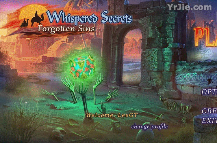 whispered secrets: forgotten sins collector's edition review screenshots 3