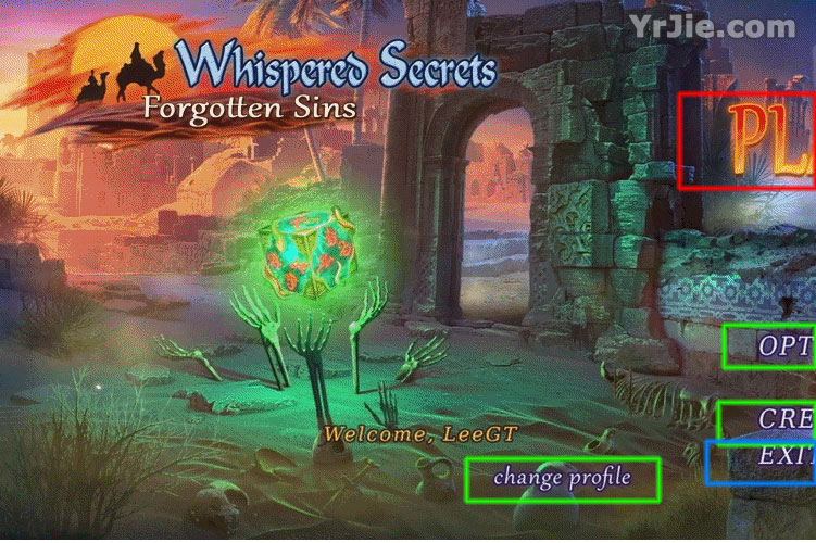 Whispered Secrets: Forgotten Sins Collector's Edition Walkthrough