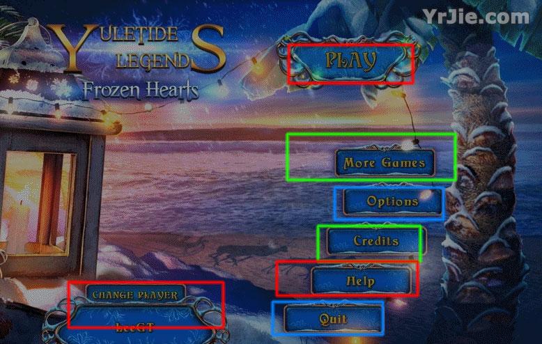 yuletide legends: frozen hearts collector's edition walkthrough screenshots 1