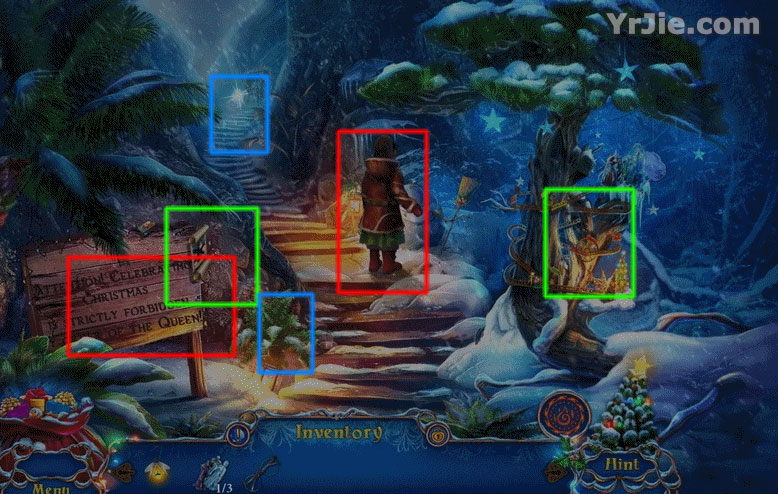yuletide legends: frozen hearts collector's edition walkthrough screenshots 2