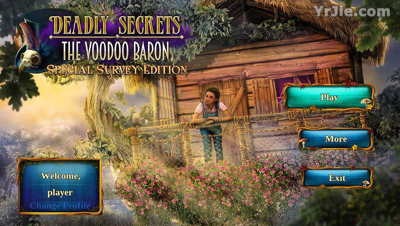 deadly secrets: the voodoo baron collector's edition