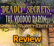 deadly secrets: the voodoo baron review
